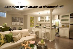 Richmond hill basement renovations